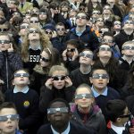 School districts CANCEL classes on Monday over fears the solar eclipse will damage students' eyes